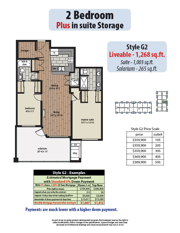 2 bedroom plans yorkson creek for G plan bedroom suite