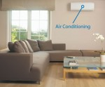 High-efficiency ductless-split air conditioning